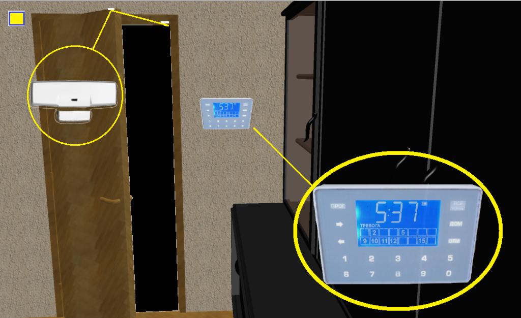 Охранная сигнализация для квартиры