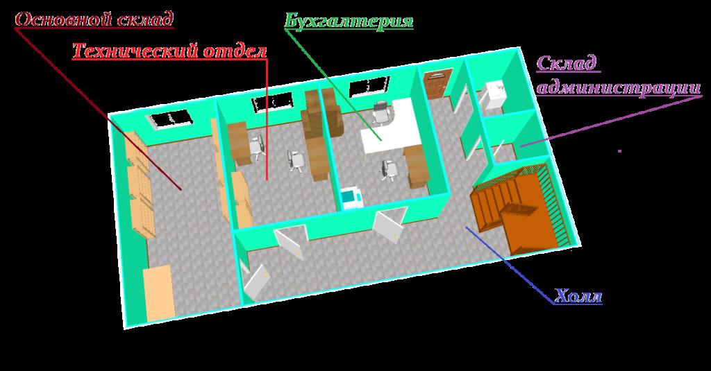 гк охрана 1 этаж