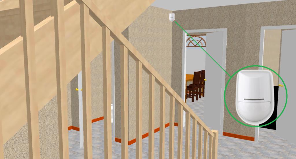 Холл и лестница 2 этаж